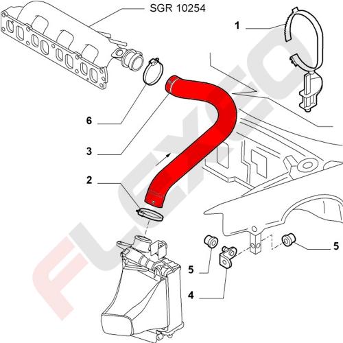 Connecteur / raccord plastique droit 4mm