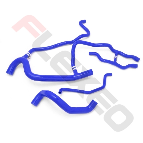 Kit 4 durites silicone HUILE - FLEXEO RENAULT 21 2.0L Turbo (ph.1)