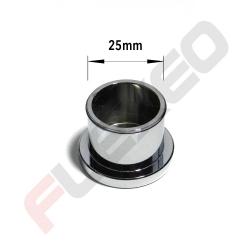 Bouchon obturation aluminium Ø25mm
