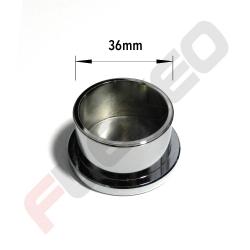 Bouchon obturation aluminium Ø36mm