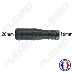 Raccord connecteur réducteur droit 20mm-16mm