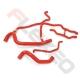 Kit EAU 6 durites silicone RENAULT CLIO 2 RS 172/182cv