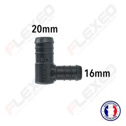 Raccord réducteur L 20mm-16mm
