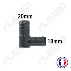 Raccord réducteur L 20mm-18mm