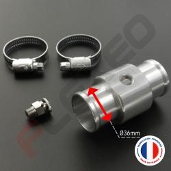 Kit purgeur manuel aluminium Ø36mm