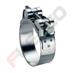 Collier TOURILLON acier zingué W1 Ace - Diamètre 113 - 121 mm