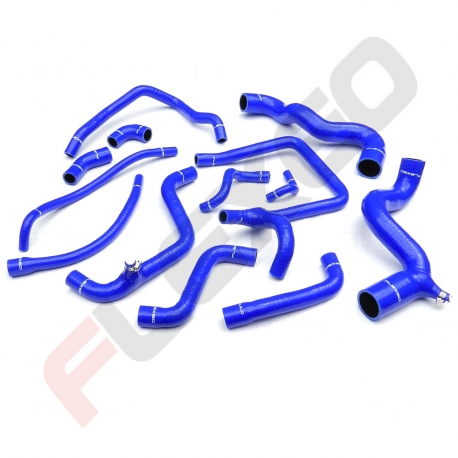 Kit EAU 13 durites silicone RENAULT 21 2L TURBO